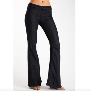 7 For All Mankind Dark Wash Bell Bottom Jean Pants